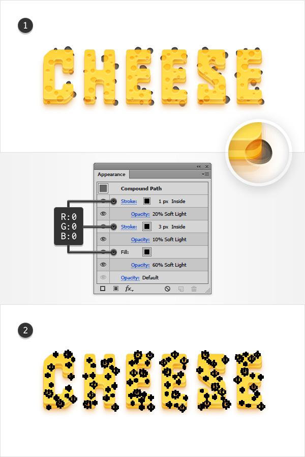 create holes