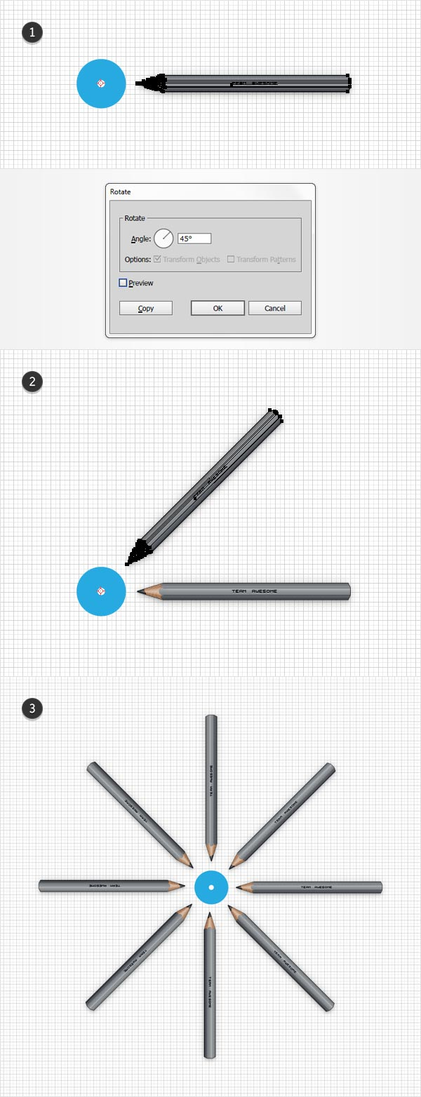 multiply pencil