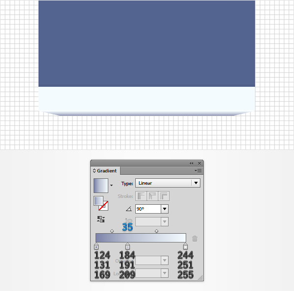 trapezoid gradient