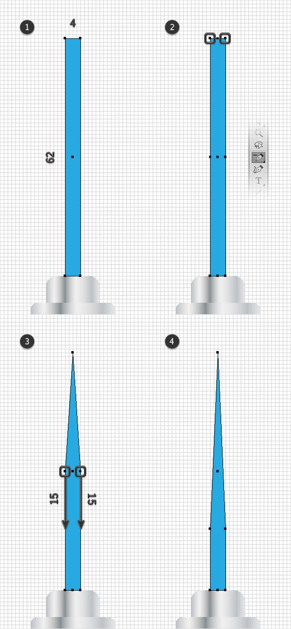 tip shape