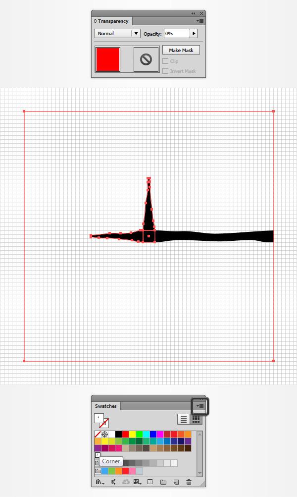 Cmo crear un efecto de texto de cianotipo en adobe illustrator asegrate de que tu motivo recientemente aadido est seleccionado abre el panel extendible del panel muestras y ve a opciones de muestra malvernweather Choice Image