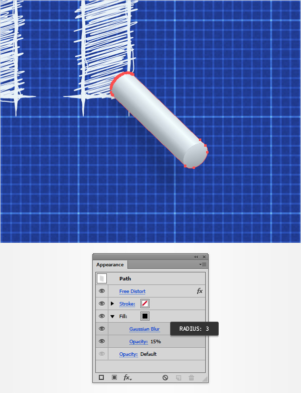 How to create a blueprint text effect in adobe illustrator step 7 malvernweather Image collections