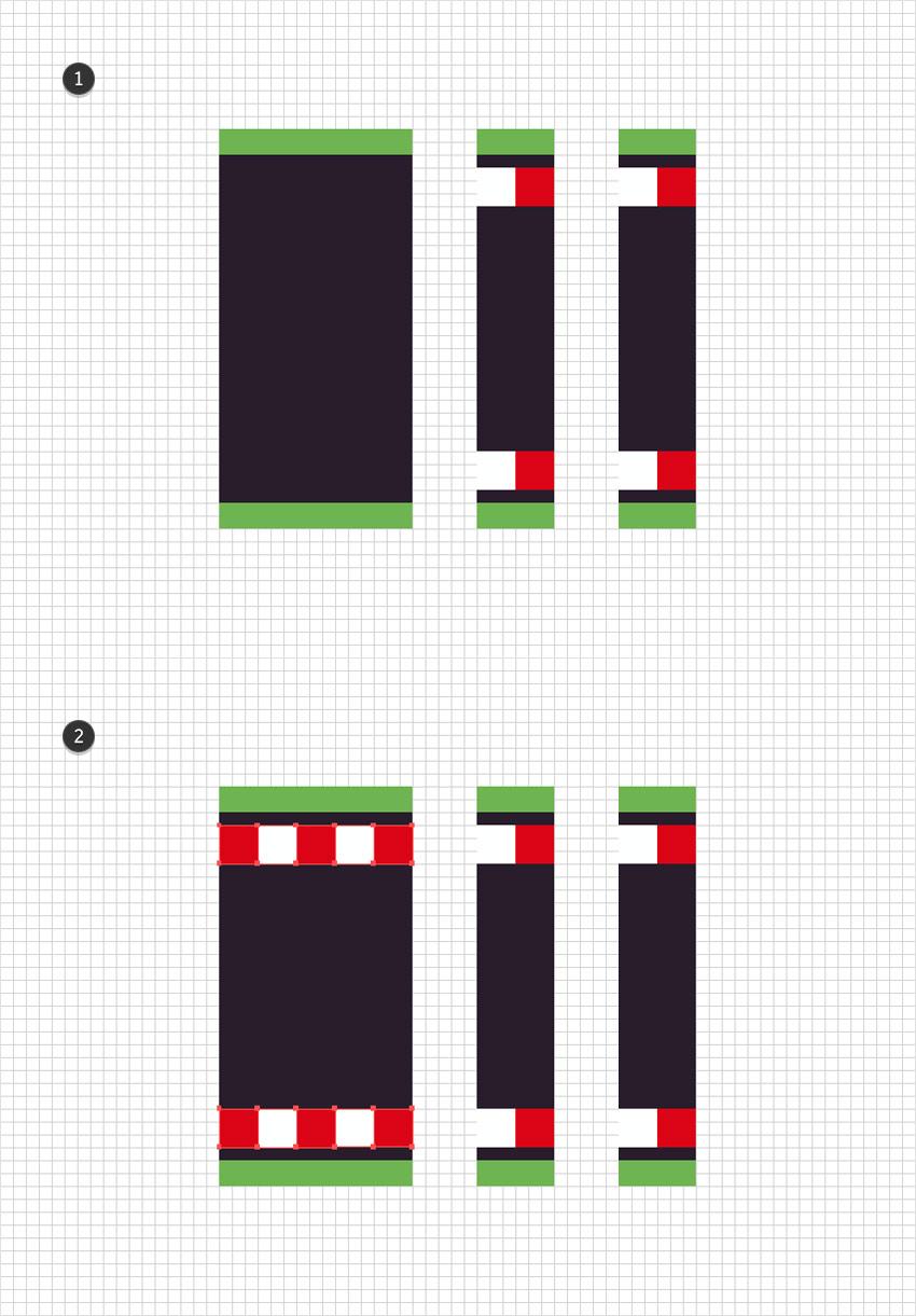 duplicate squares