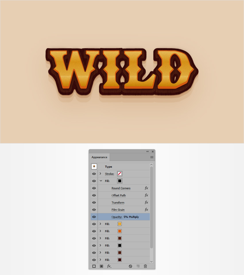 How to Create a Western Text Effect in Adobe Illustrator