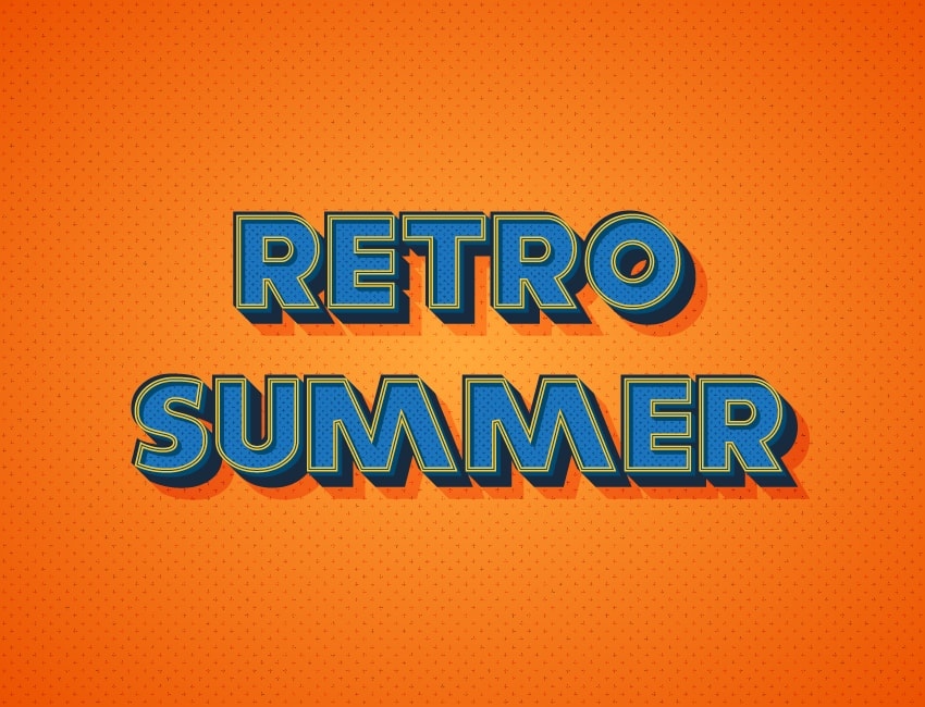 How to Create a Warm, Retro Text Effect in Adobe Illustrator