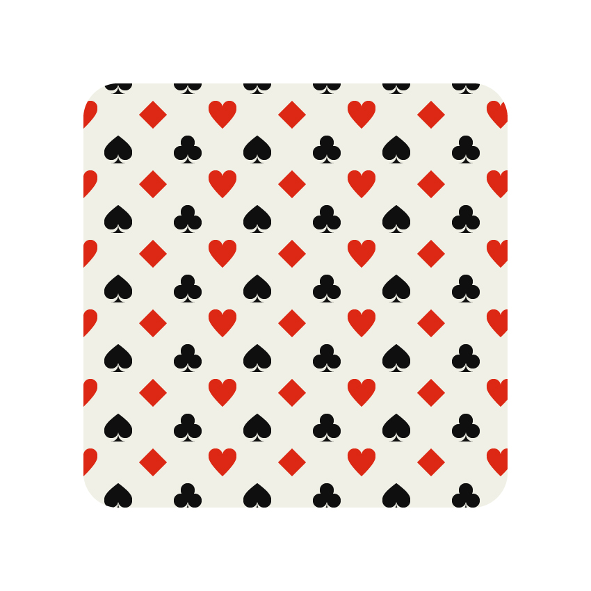 How to Create a Card Suits Pattern in Adobe Illustrator