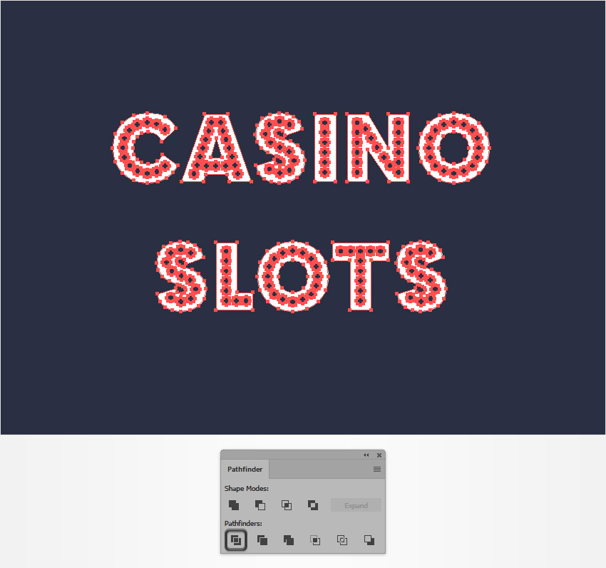 How to Create a Casino Text Effect in Adobe Illustrator