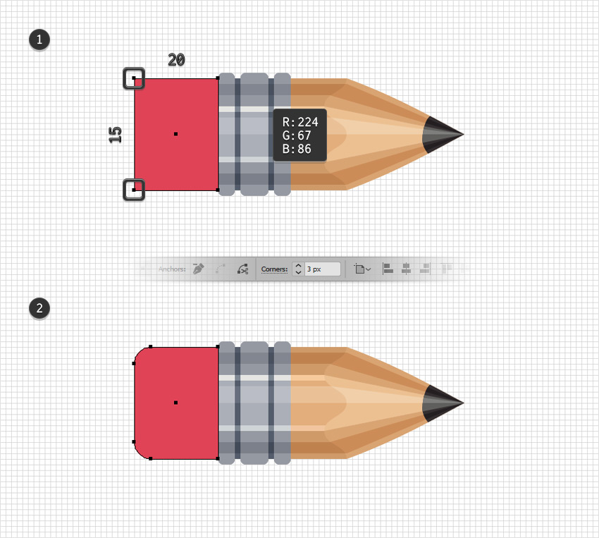 How to Create a Pencils Text Effect in Adobe Illustrator