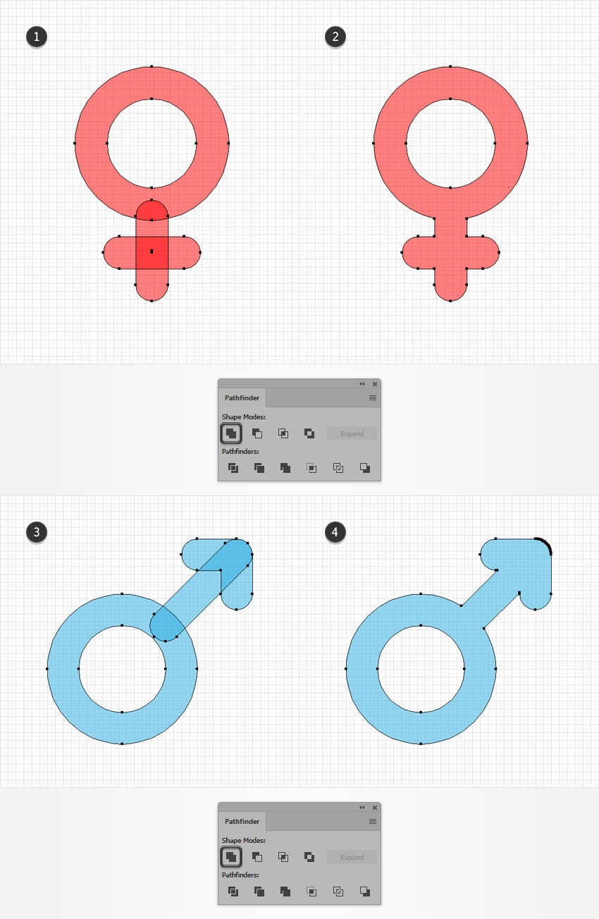 How to Create a Set of Sexuality Icons in Adobe Illustrator