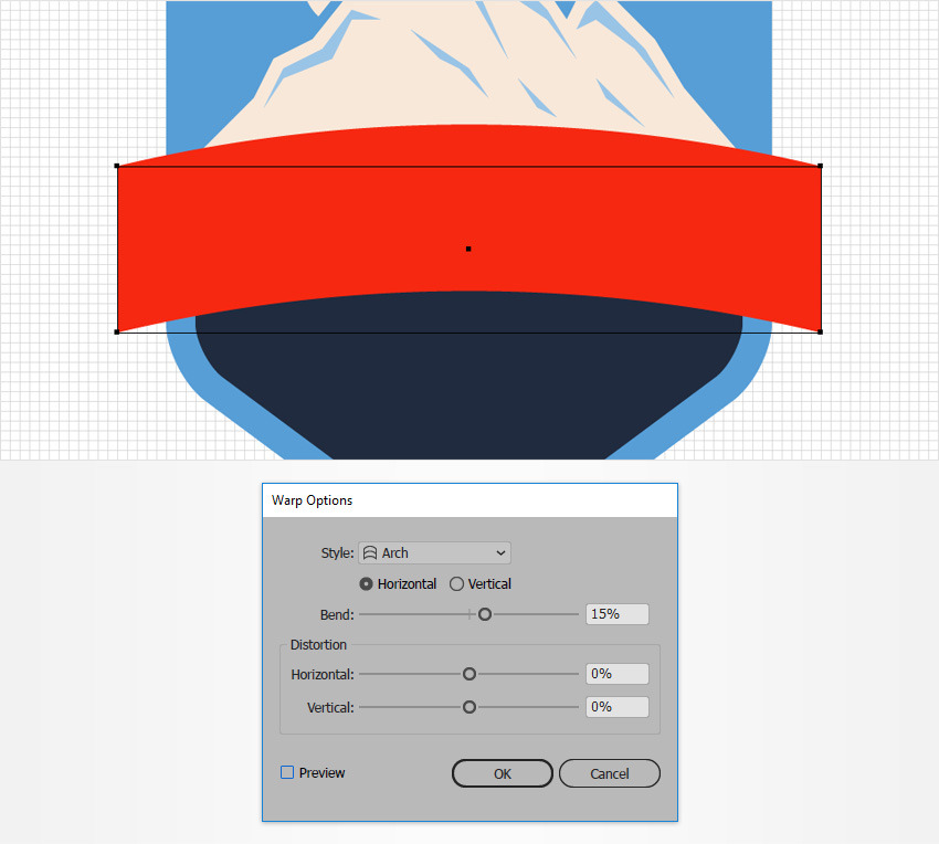 How to Create a Mountain Rescue Unit Badge in Adobe Illustrator