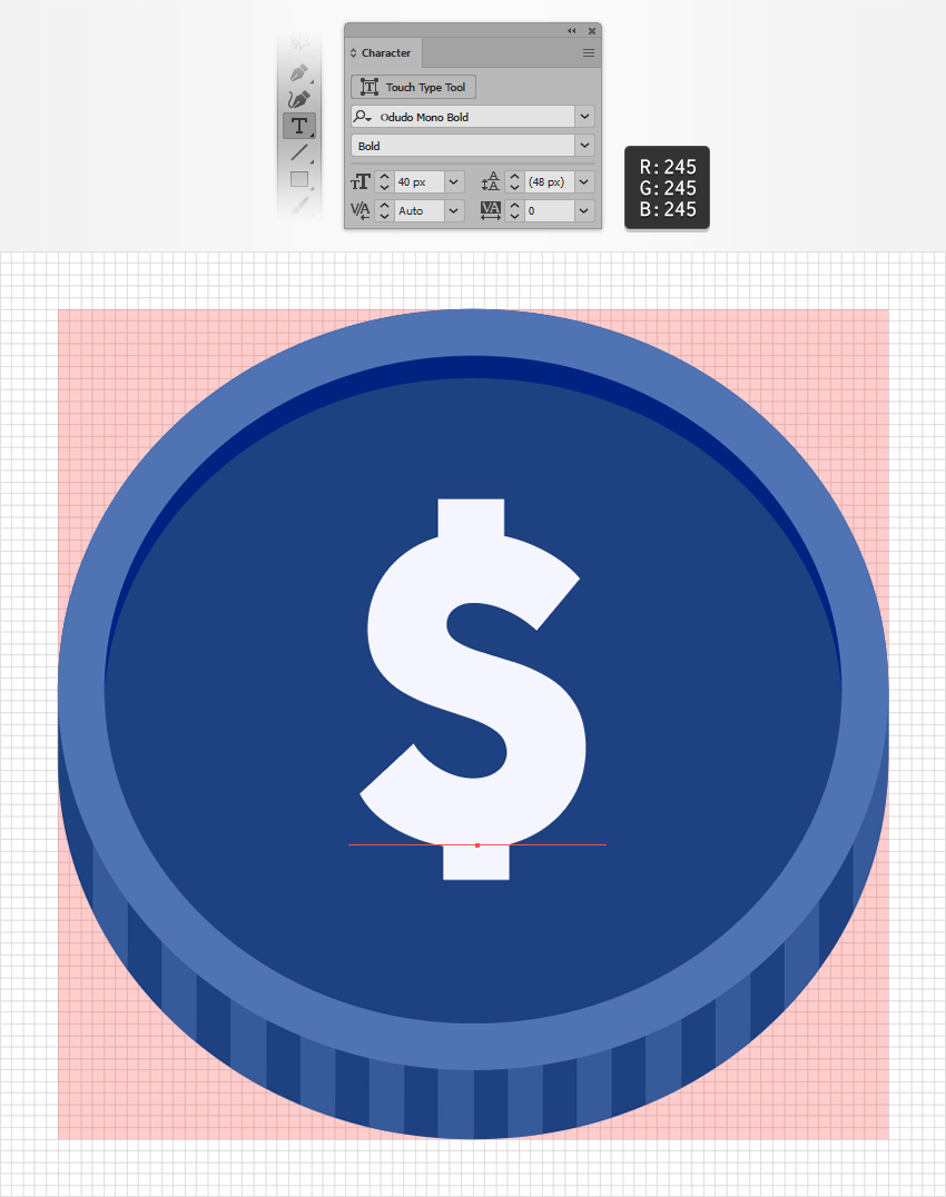 How to Make a Money Icon in Adobe Illustrator