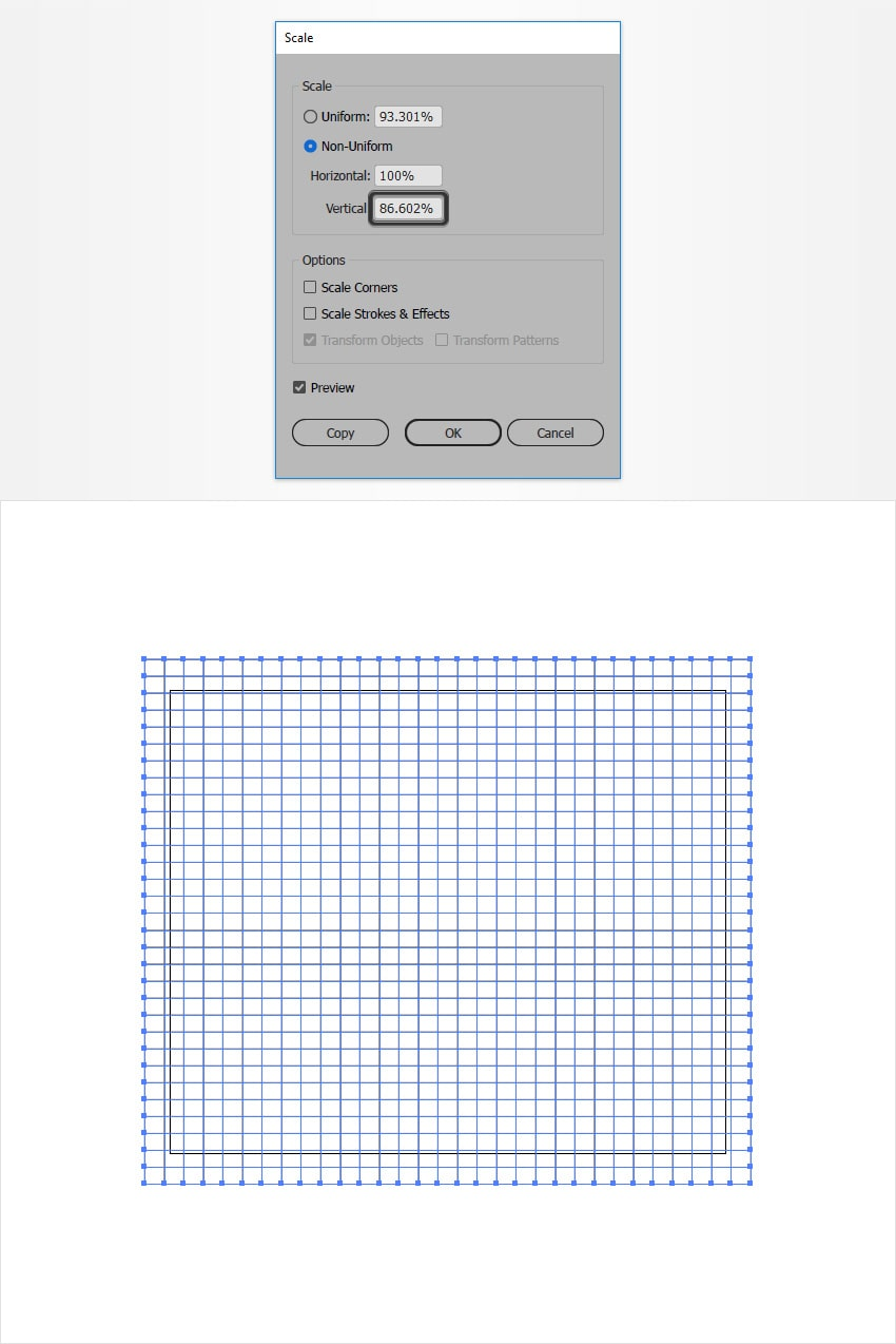 Quick Tip: How to Create an Isometric Grid in Less Than 2