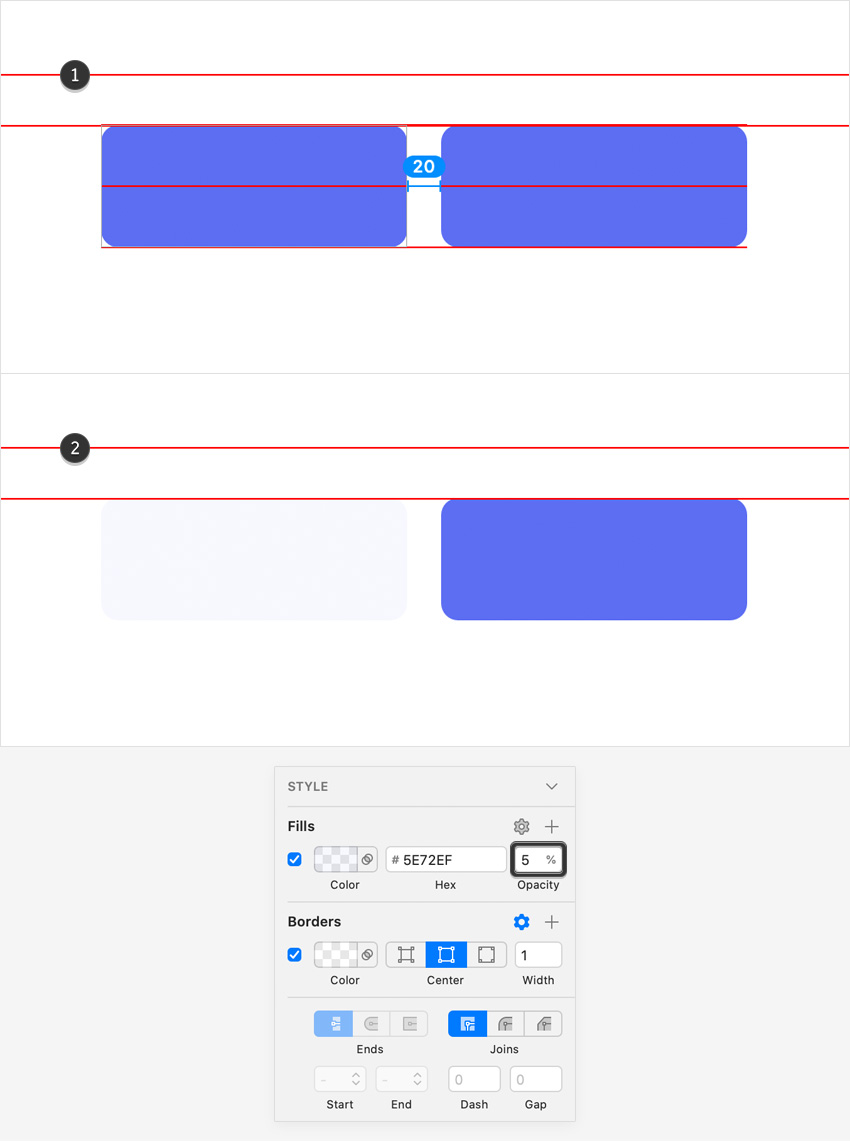 duplicate rounded rectangle