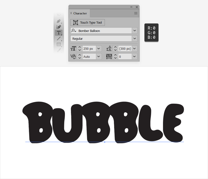 cool bubble letter fonts