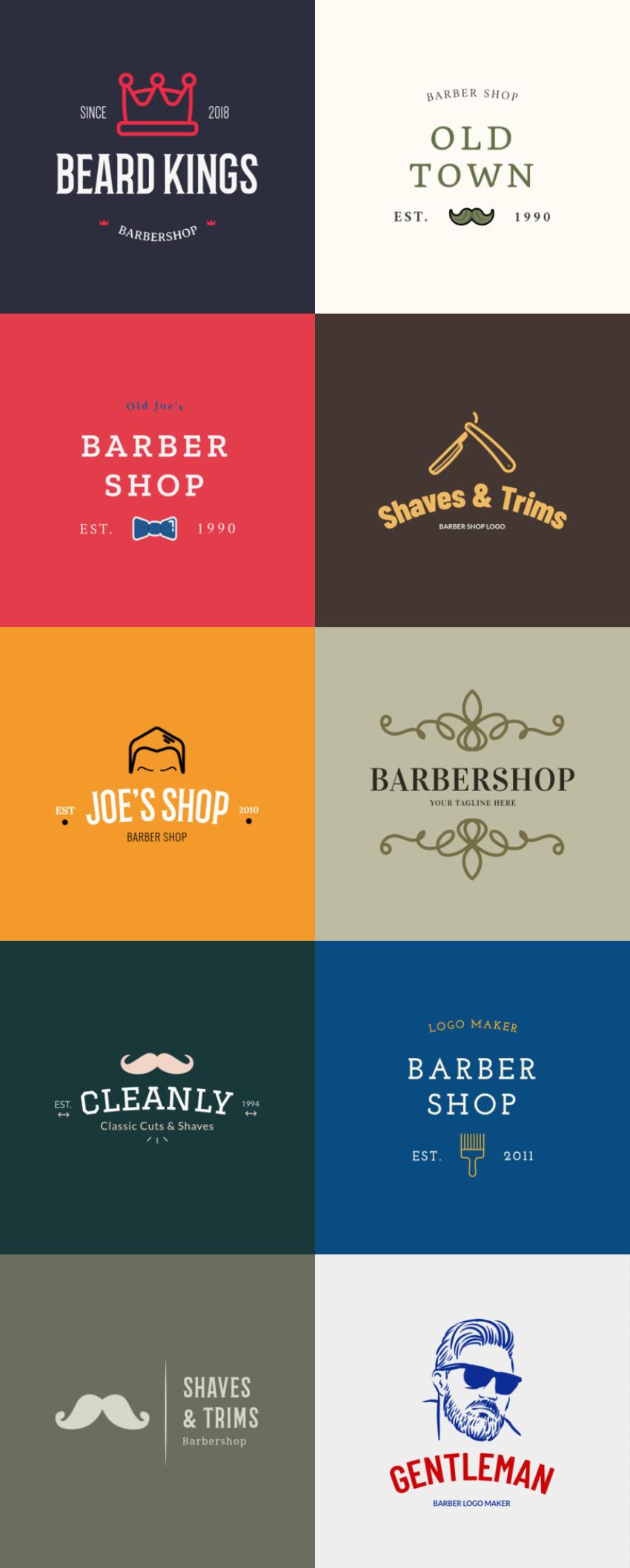 barber shop logo maker
