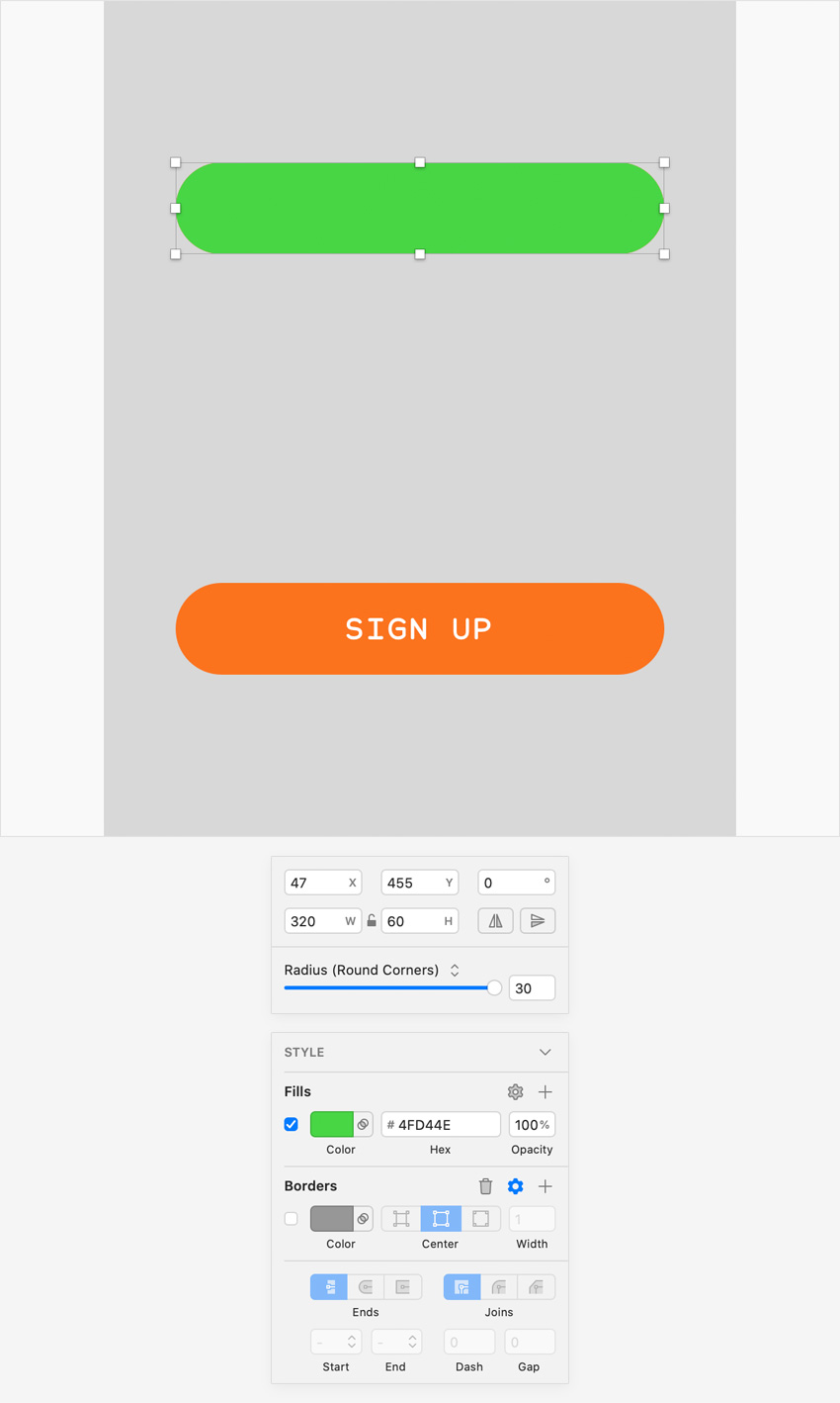 sketch UI design create symbol