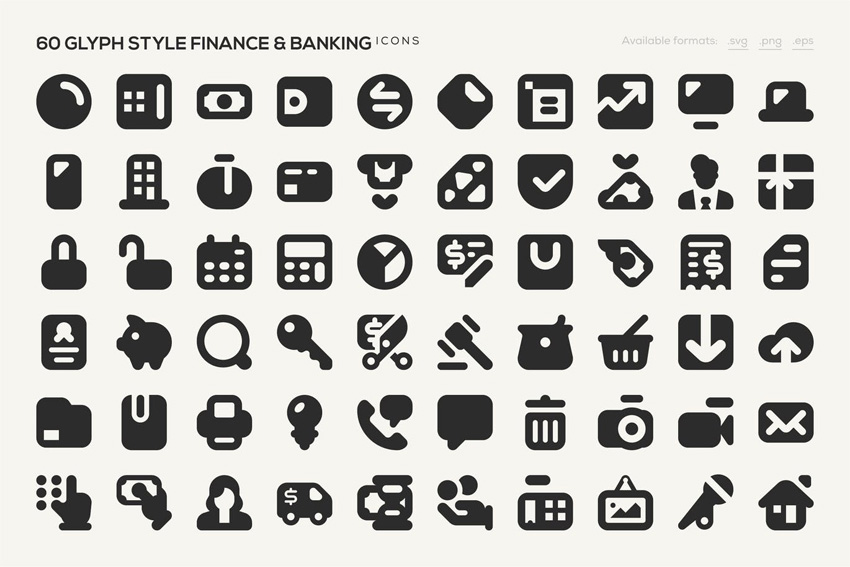 Finance Banking Icons