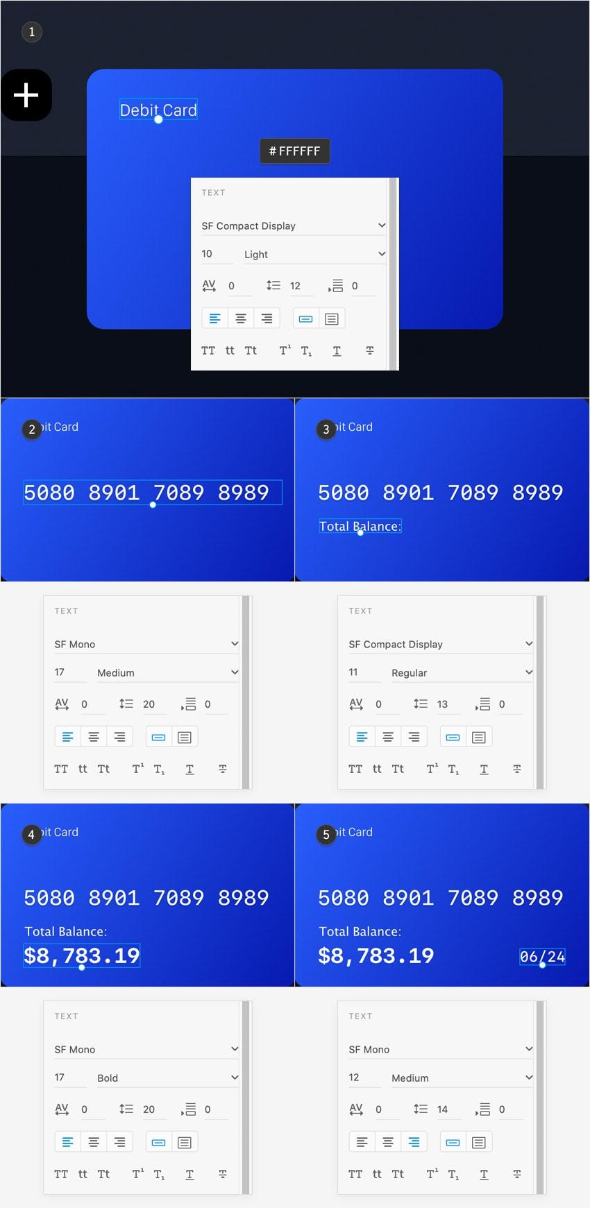 card text