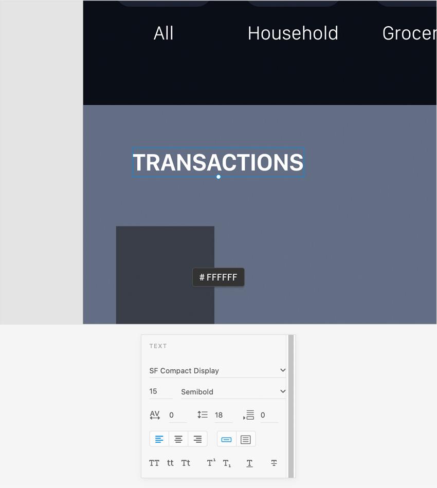 transactions text
