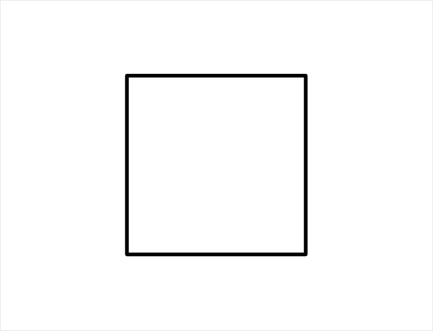 инструмент прямоугольник