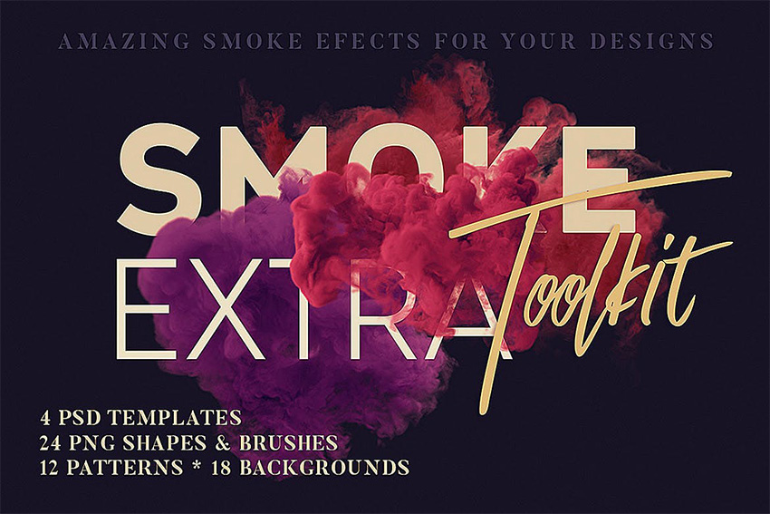 Download smoke brushes for Photoshop