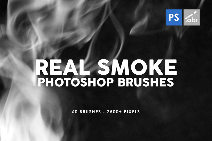 Real Photoshop Smoke Brush Pack