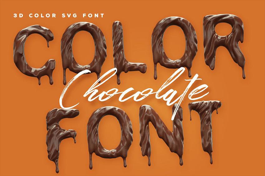 Chocolate SVG Font
