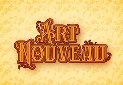 Image of ArtNouveauTextEffectPreview