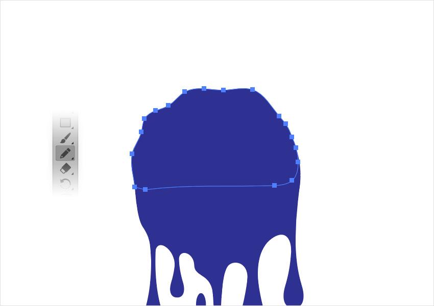 drip brush illustrator