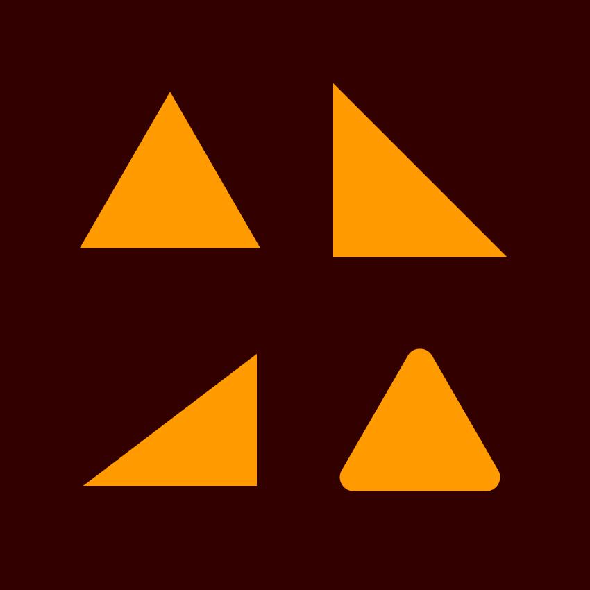 triangle illustrator