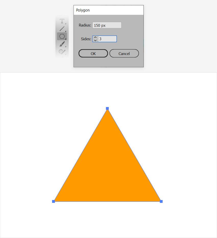 perfect triangle illustrator
