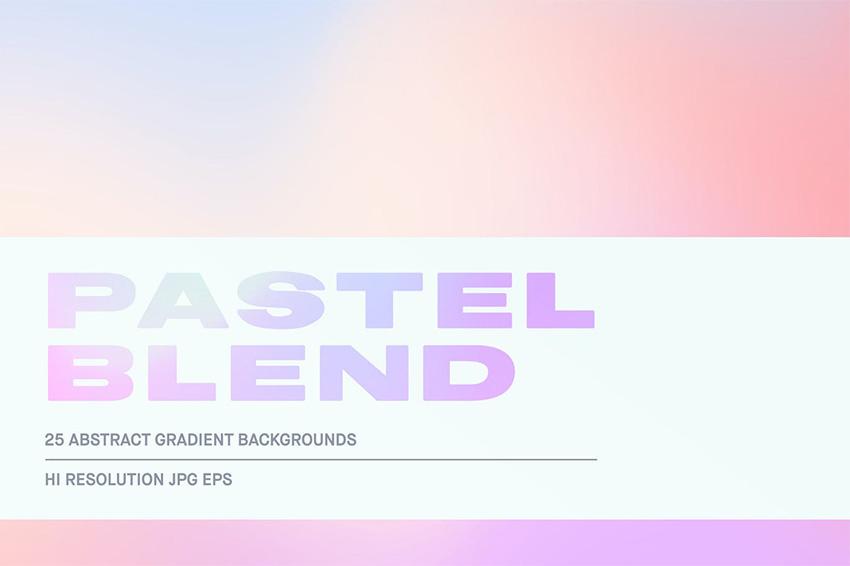 pastel pink gradient