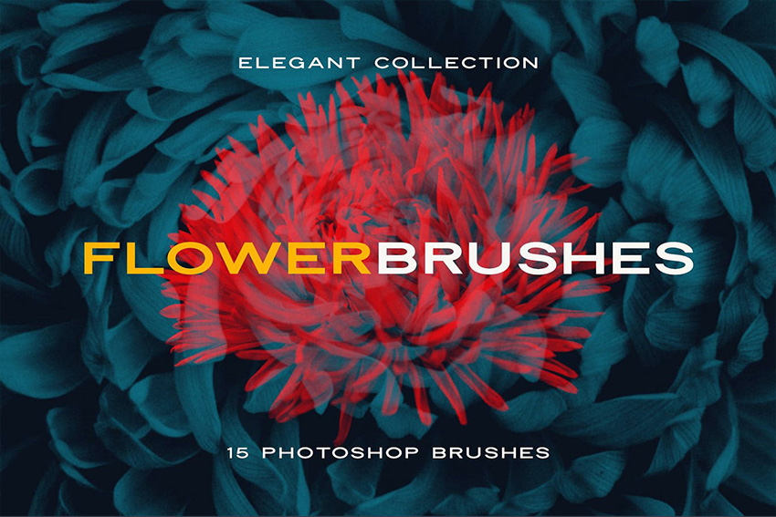 photoshop effect for flowers