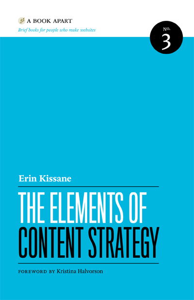 Preview for The Elements of Content Strategy