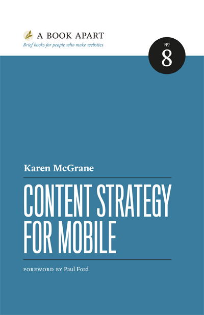 Preview for Content Strategy for Mobile