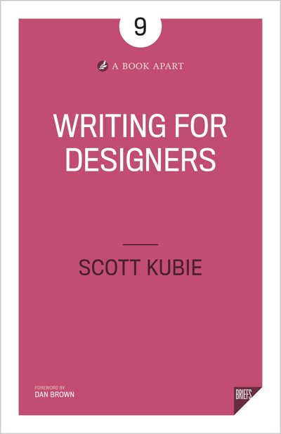 e-book Writing for Designers
