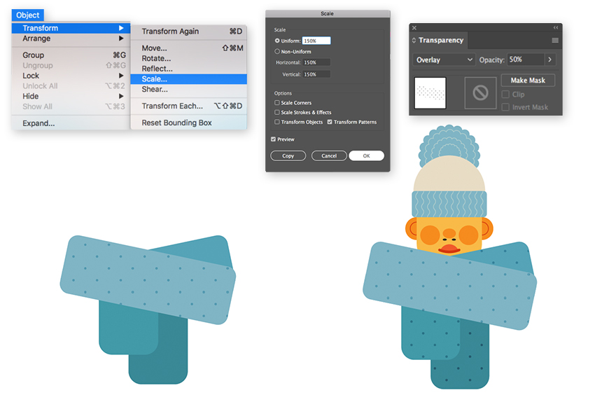 How to Create a Cozy Winter Character in Adobe Illustrator