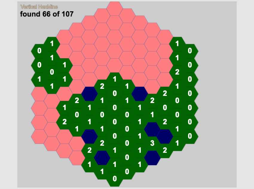 Creating a Hexagonal Minesweeper