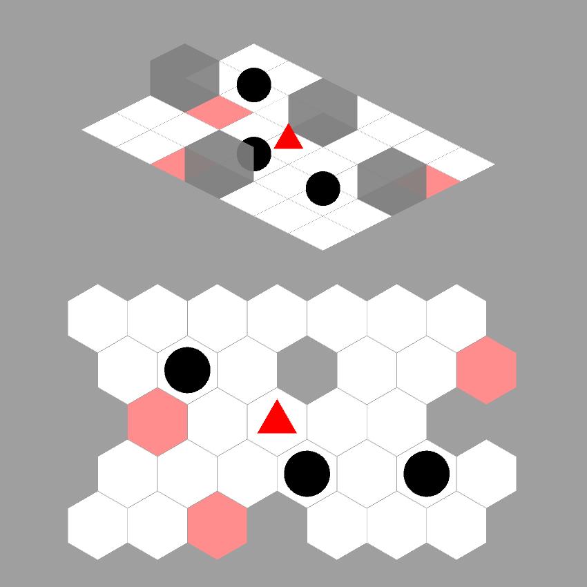Unity 2D Tile-Based Isometric and Hexagonal 'Sokoban' Game
