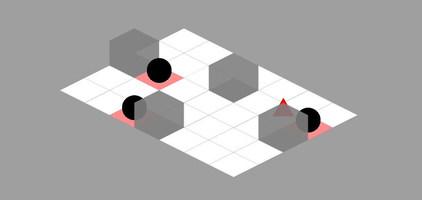 Isometric version finished level