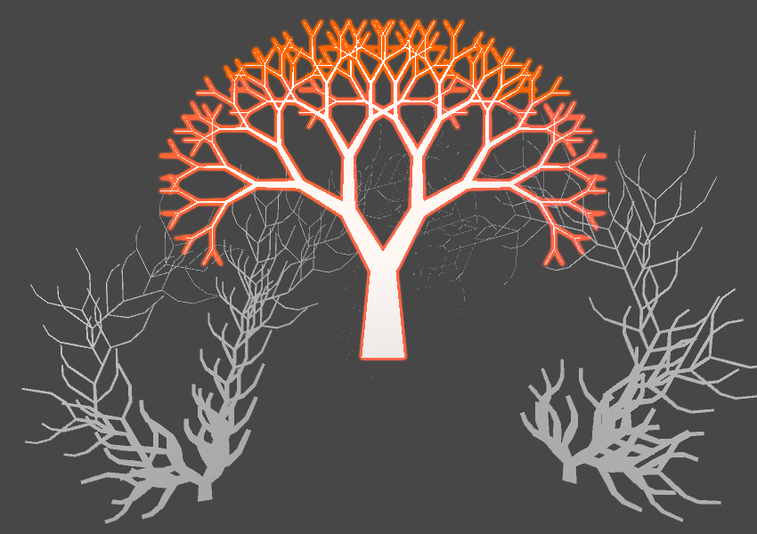Create 2D Tree Shapes With Code