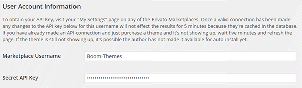 Envato Toolkit page in the main menu