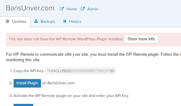 Get the API key here