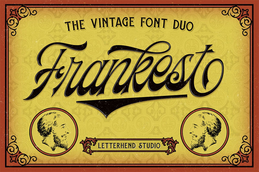 Vintage Font