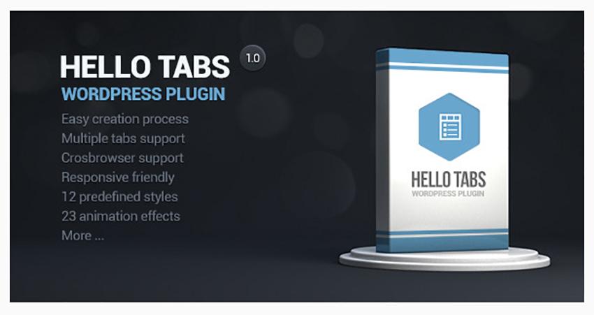 Hello Tabs WordPress Widget