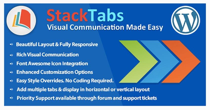 StackTabs for WordPress