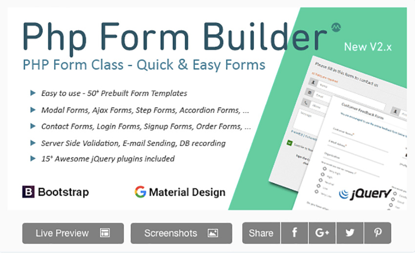 12 Best Contact Form Php Scripts