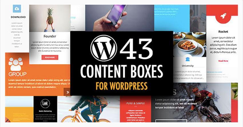 WordPress Content Boxes Plugin
