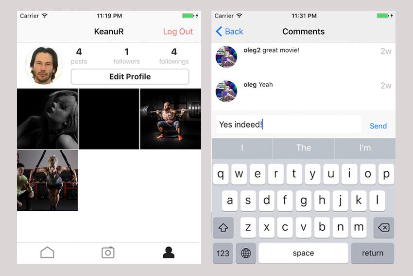 PhotoVideo Social App