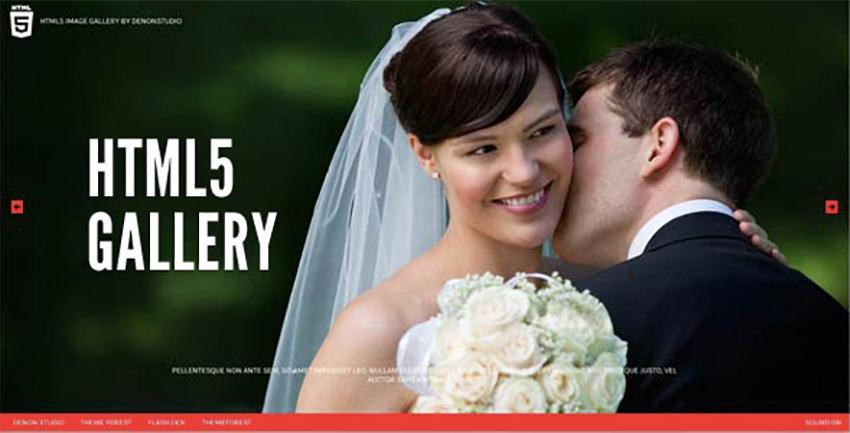 HTML5 Fullscreen Gallery